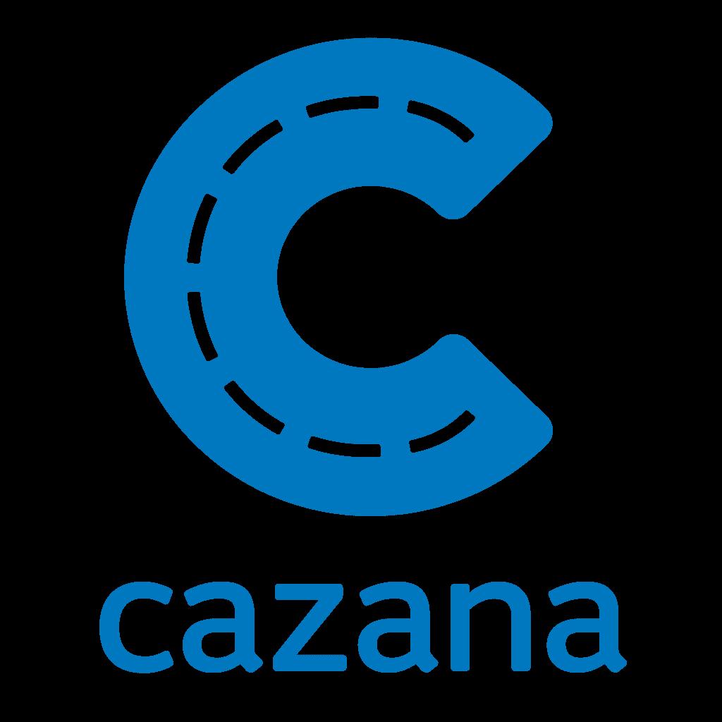 Cazana website logo.